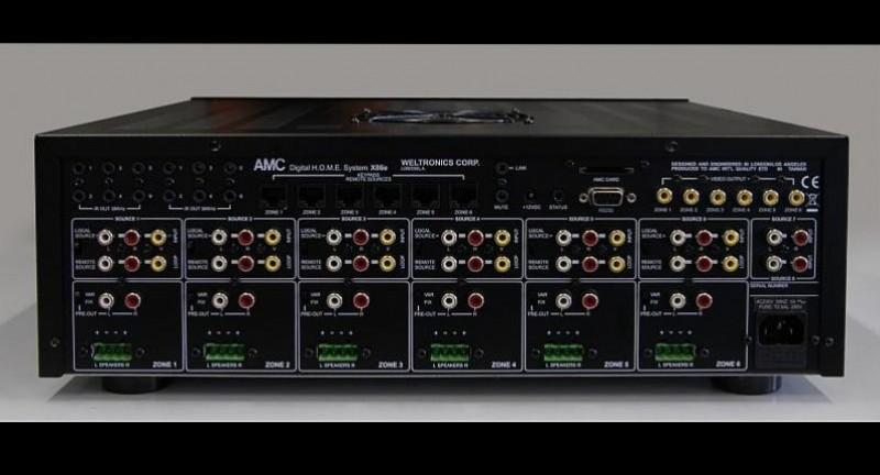 美國 AMC X86i 綜合擴大機 6房間8音樂源 多房系統