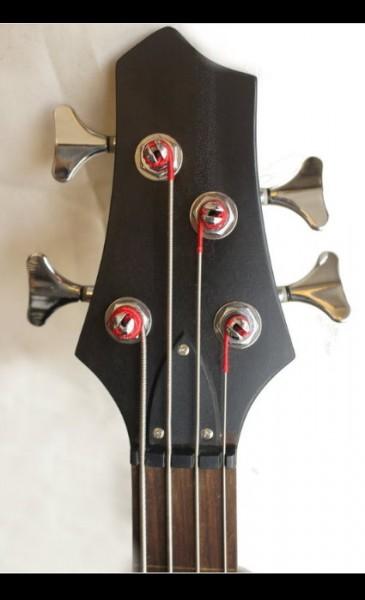 手工製作 一體成型 無琴格BASS 電貝斯