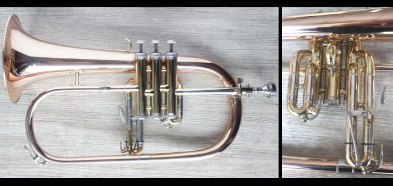 台灣製造 紅銅 柔音號 小號 小喇叭