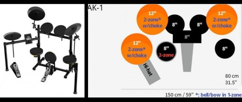 AWOWO AK-1 日本銷售冠軍 打敗R牌Y牌 台灣製造 電子鼓 誠徵區域經銷商