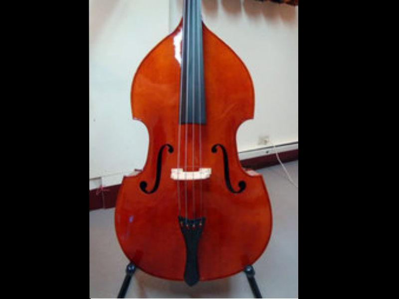 SANDNER 山德 Double Bass 3/4 低音大提琴---全手工製作