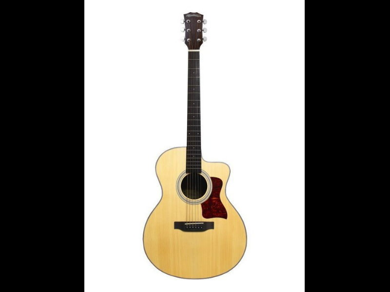 Woodtone GA-110 GA110 民謠吉他 附原廠超厚琴袋--亮光款