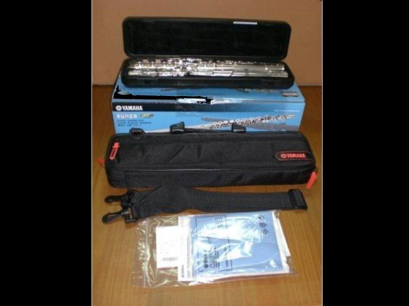 YAMAHA YFL-221 藍色彩盒包裝 C調長笛