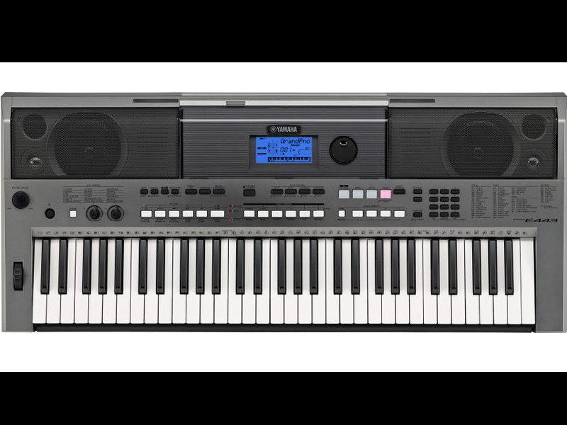 YAMAHA  PSR-E443 手提電子琴 加贈延音踏板