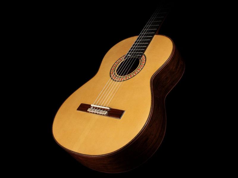 Manuel Rodriguez A 單板 西班牙 手工 古典吉他