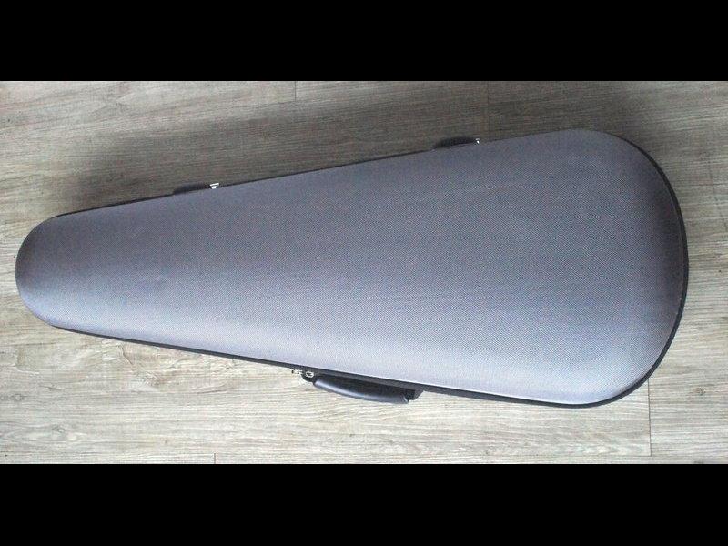 法國 DIAMOND 4/4 超輕小提琴盒 鐵灰色