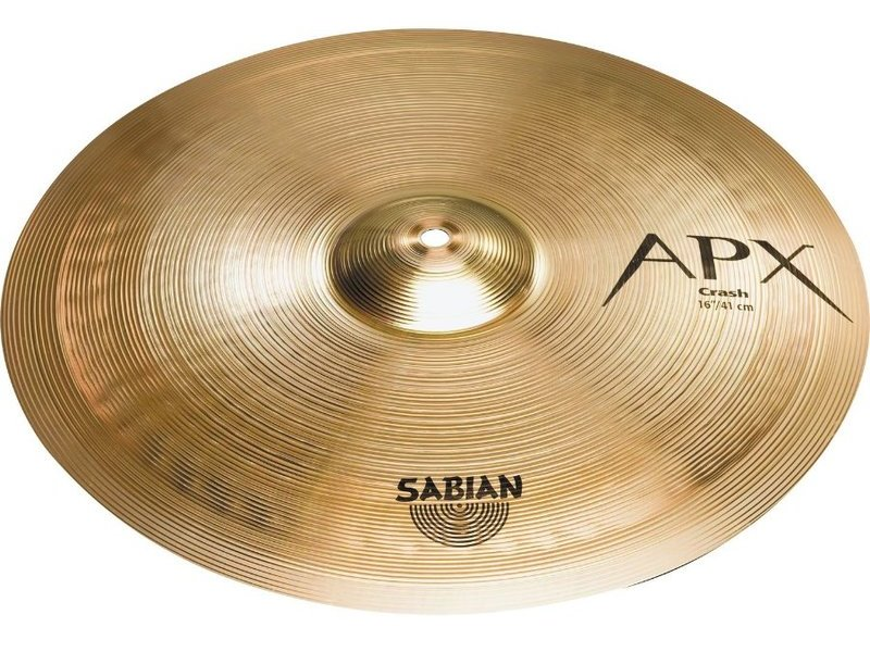 "SABIAN APX 16"" Crash"
