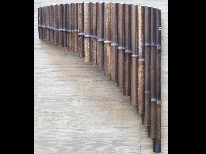 22音 紫竹 G調 排笛 排簫