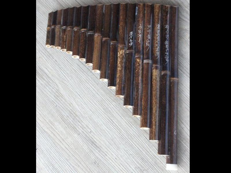 18音 C調 紫竹 排笛 排簫