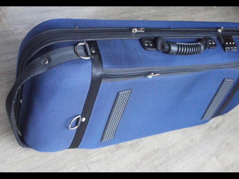 法國 DIAMOND 4/4 小提琴盒 藍色