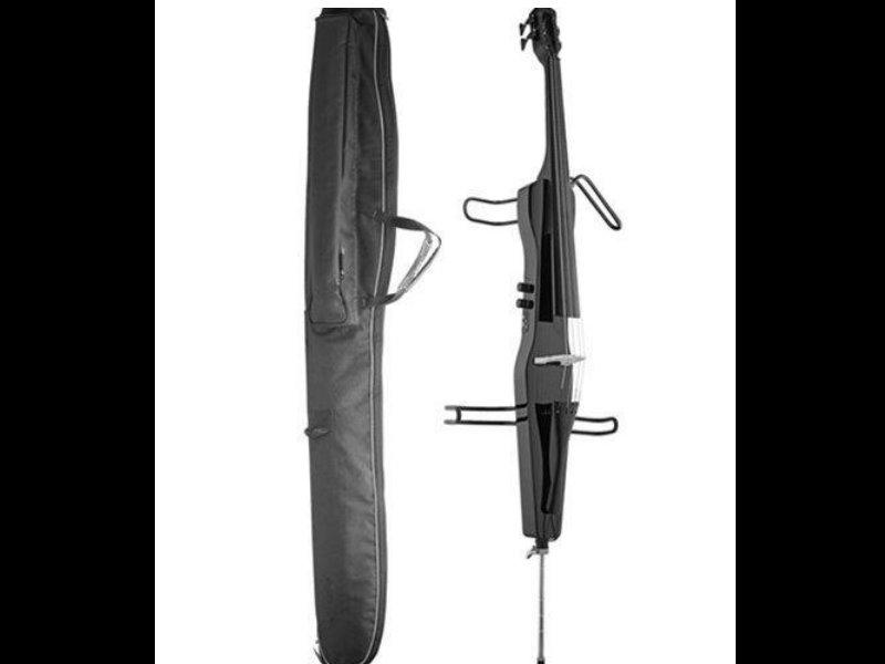 Stagg 靜音電子大提琴 黑