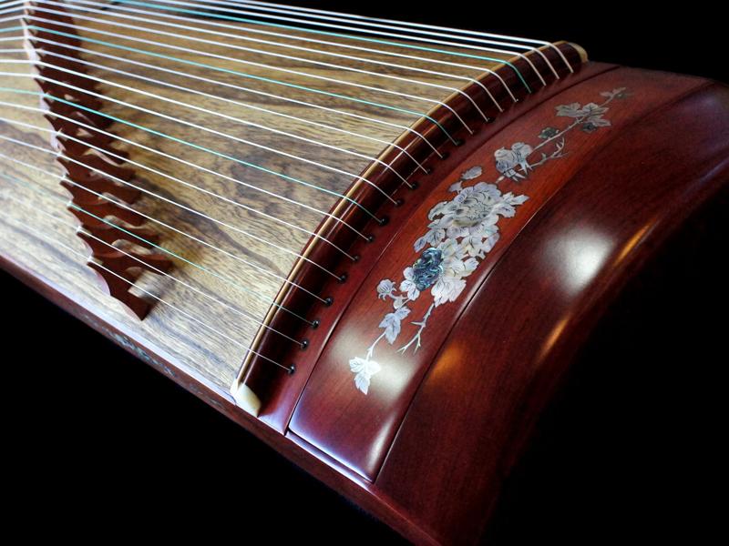 二胡、古箏、中國笛、簫