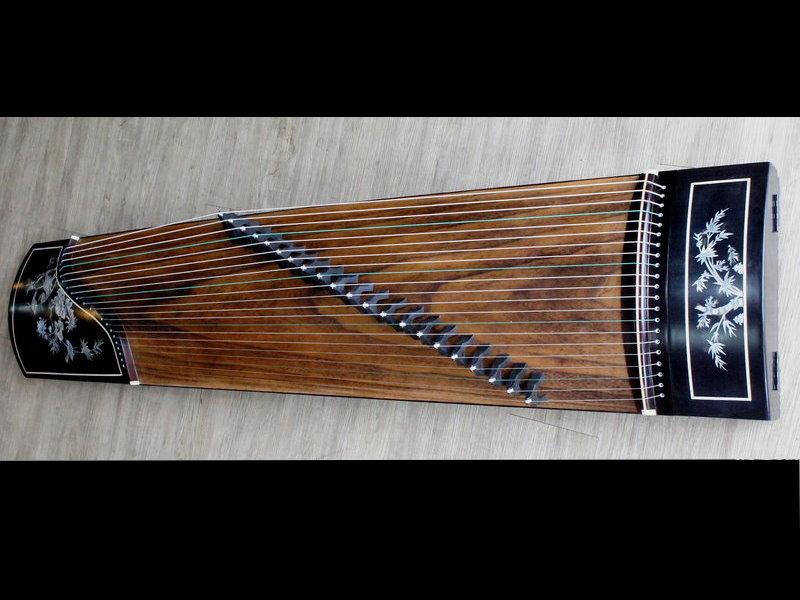 烏木 21 弦 演奏型 古箏