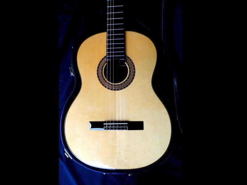 日本 佐藤親製  C-800 全單板 手工簽名 頂級古典吉他