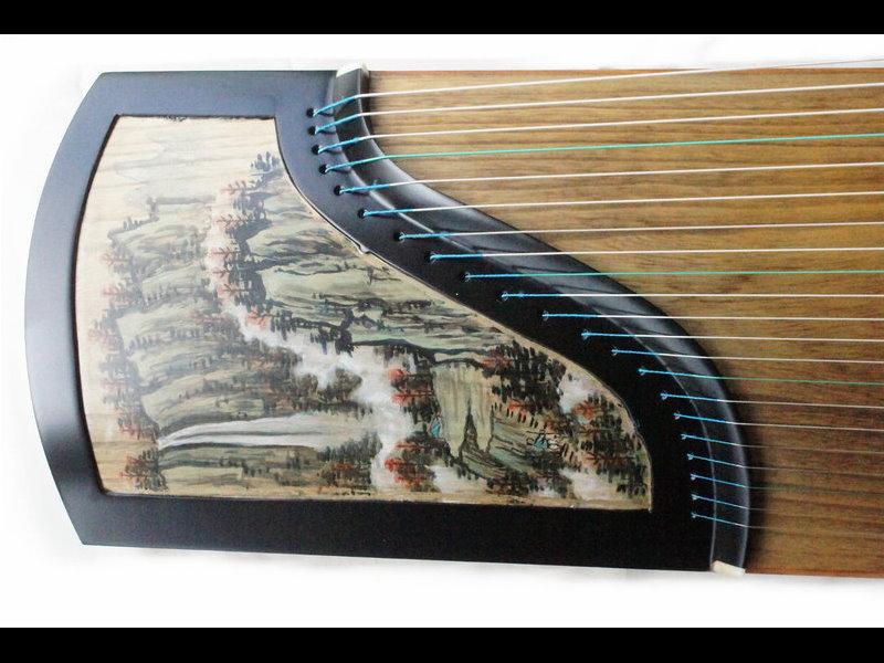 大型演奏款 台灣製老紅木 特級古箏 共鳴極佳
