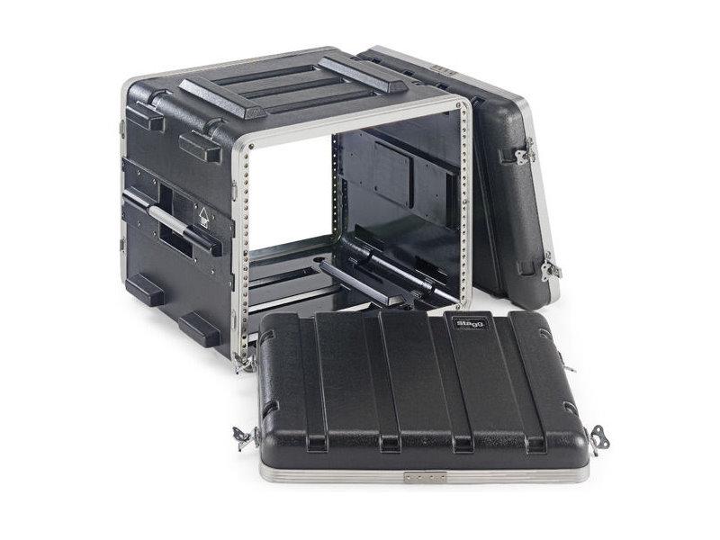 比利時 Stagg ABS 8U 硬盒手提機櫃