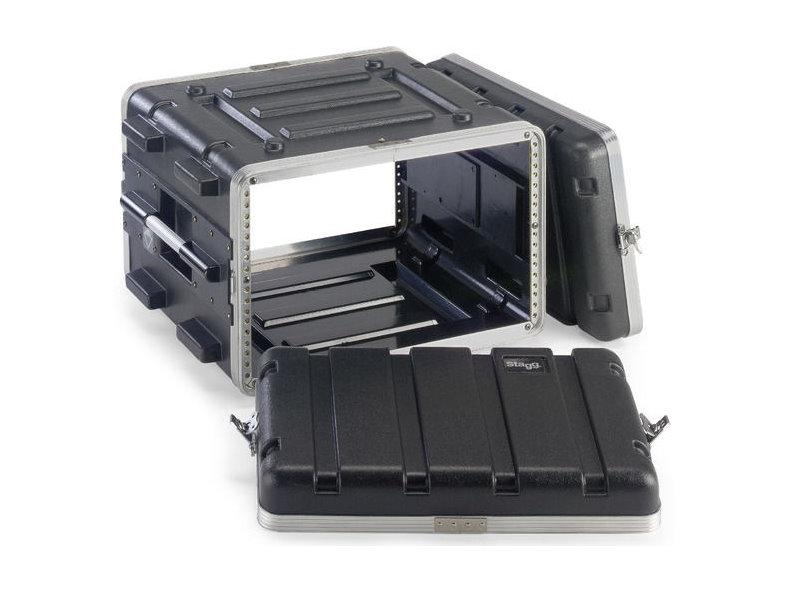 比利時 Stagg ABS 6U 硬盒手提機櫃