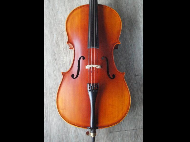 德國公司製作 全手工  仿古大提琴